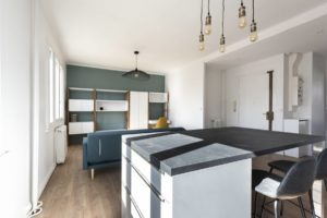 Rénovation d'un appartement à Suresnes