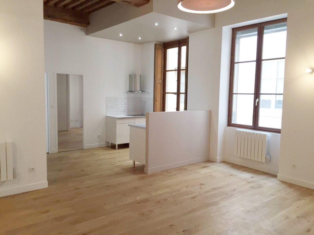 Rénovation d'un appartement à la Celle Saint Cloud