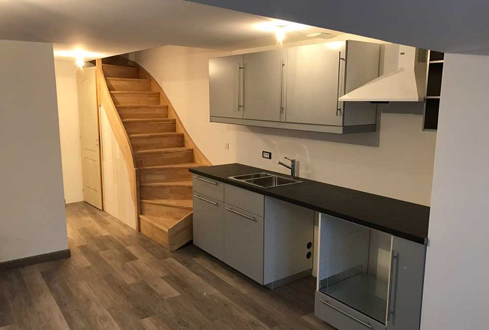 Rénovation d'un appartement à Carrières sur Seine