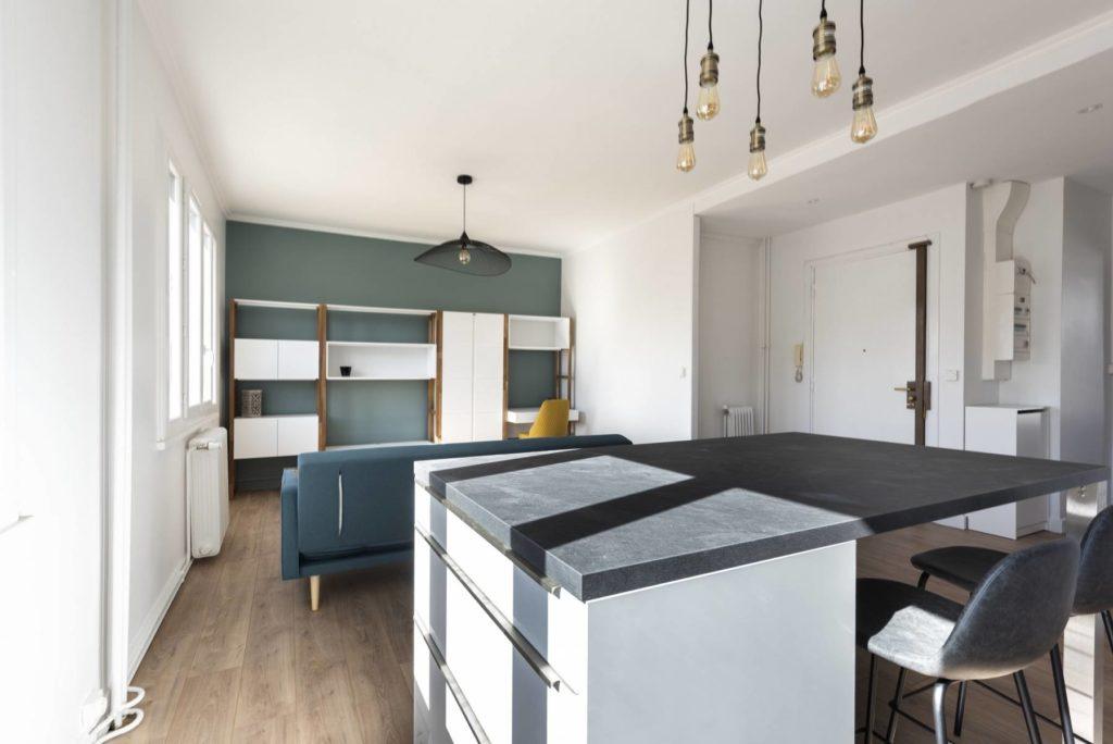 Rénovation d'un appartement à la porte Dauphine