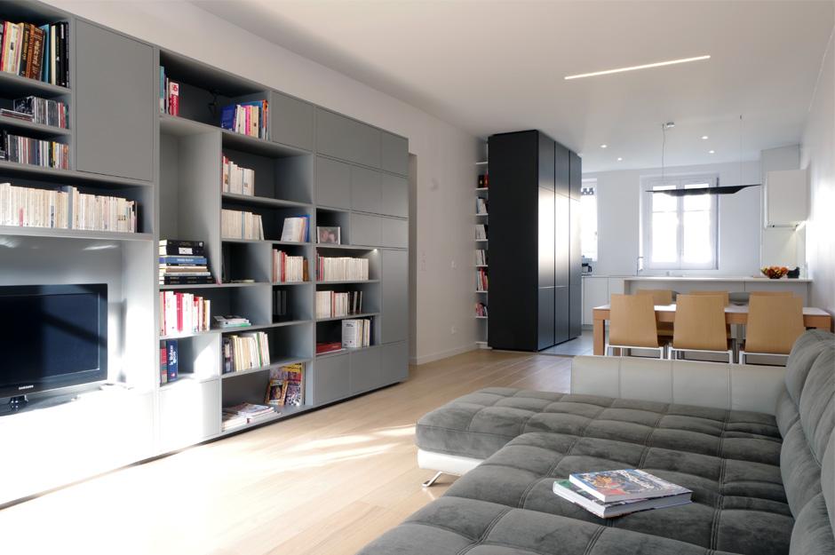 Rénovation d'appartement à la porte de Saint Cloud