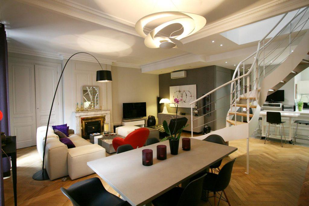 Rénovation d'un appartement quartier Arc de Triomphe