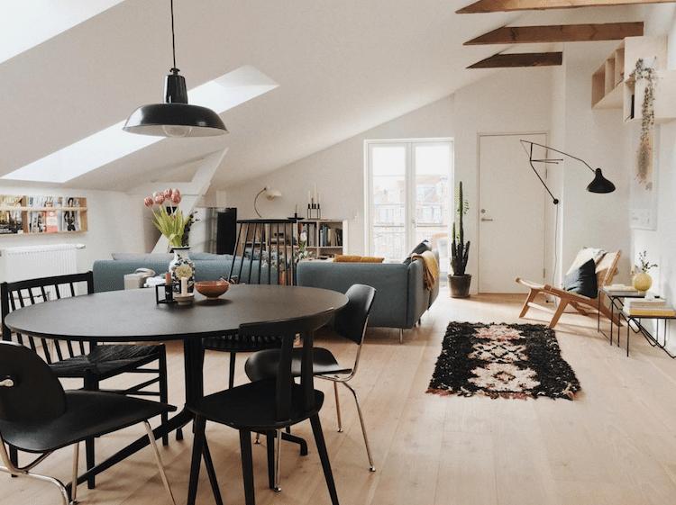 Rénovation d'un appartement sous-comble à Boulogne