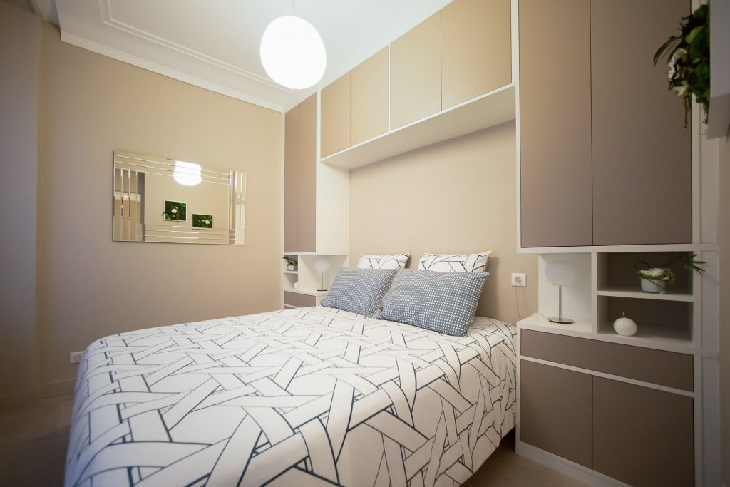 Rénovation d'un appartement dans le quartier des Invalides