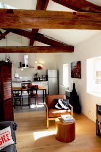 Rénovation d'appartement sous combles à Levallois