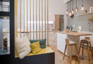 Rénovation d'appartement à Courbevoie
