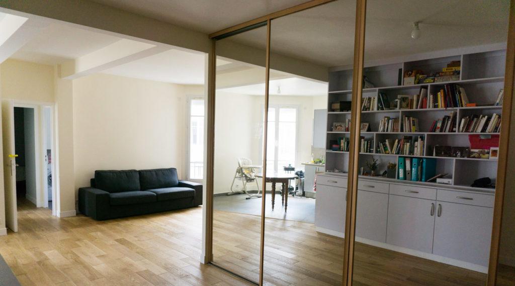 Rénovation d'un appartement Paris VIII