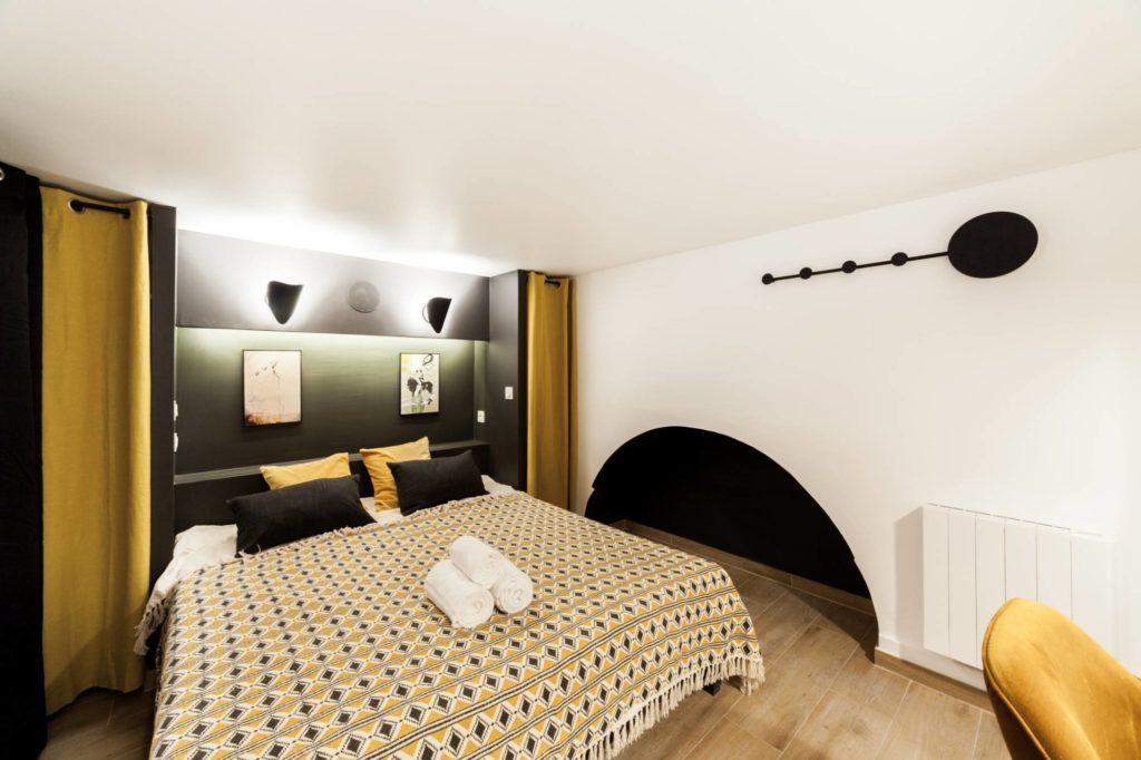 Rénovation d'une chambre à Levallois