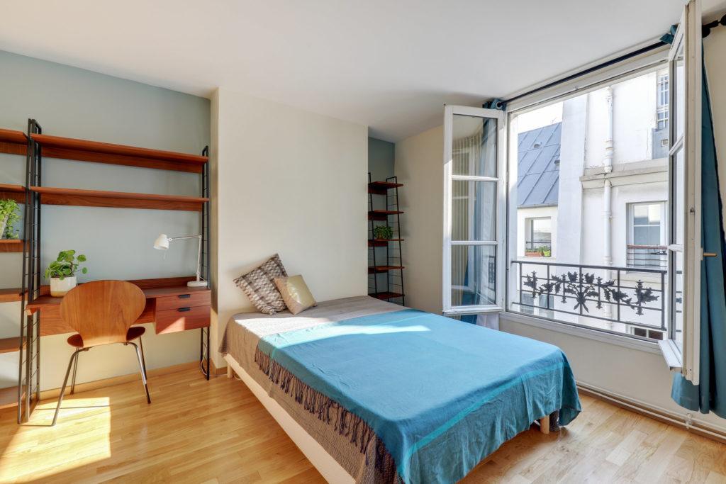 Rénovation d'une chambre à Paris XVII
