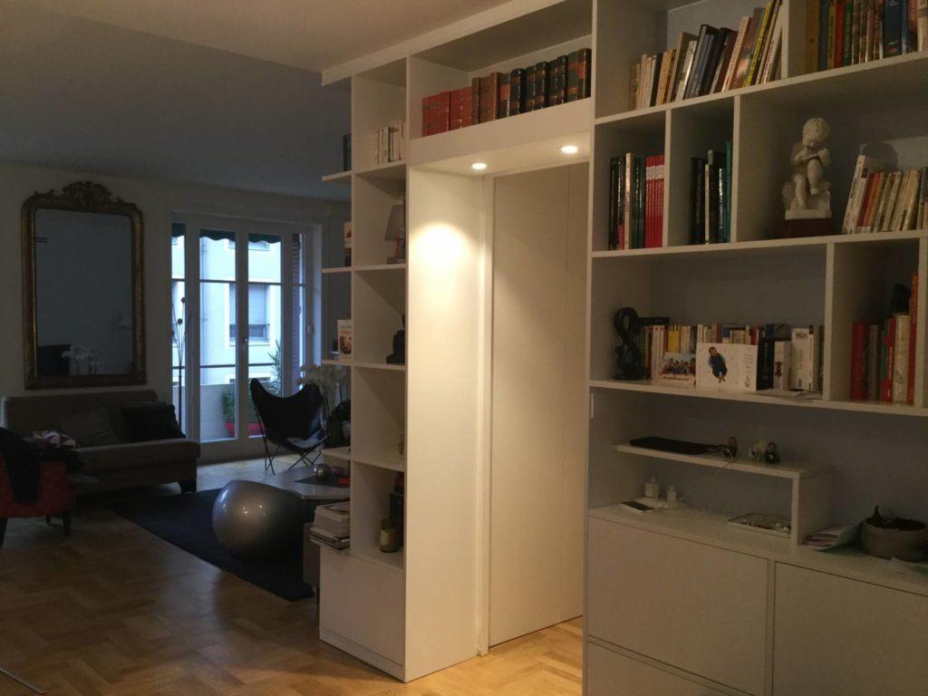 Rénovation d'un appartement à Paris-Trocadero