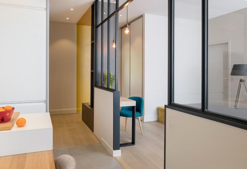 Rénovation d'un appartement à la Porte Maillot